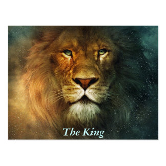 The King! - Postcard