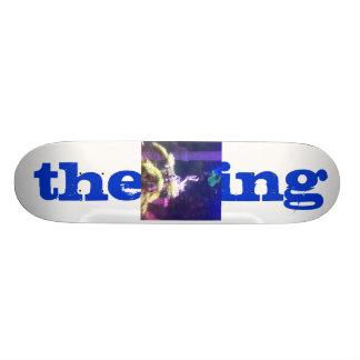 the king custom skate board