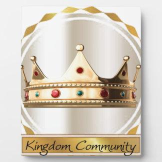 The Kingdom Community Crown 2 Plaque