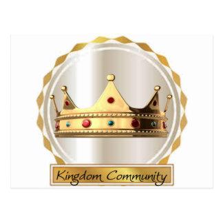The Kingdom Community Crown 2 Postcard
