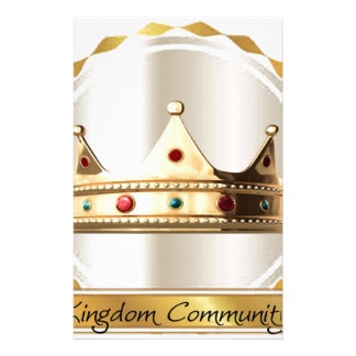 The Kingdom Community Crown 2 Stationery