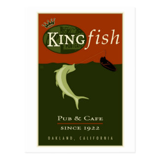 the Kingfish Postcard