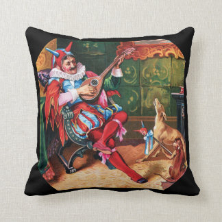 The King's Favorite Jester Throw Pillow