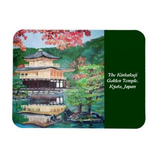 The Kinkakuji Golden Temple - Premium Flexi Magnet