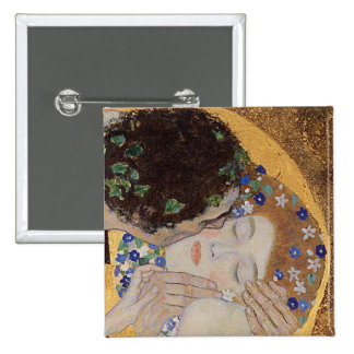 The Kiss, 1907-08 2 Inch Square Button