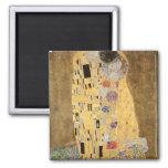 The Kiss, 1907-08 Fridge Magnet