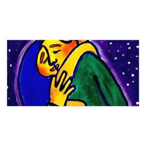 The Kiss 1 by Piliero Custom Photo Card