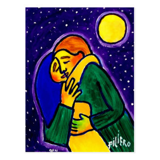 The Kiss 1 by Piliero Postcard