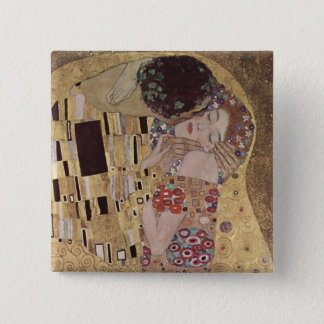 The Kiss 2 Inch Square Button