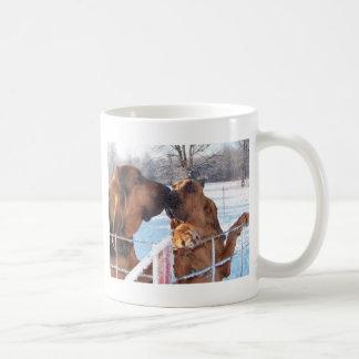 The Kiss - Bloodhound Coffee Mug