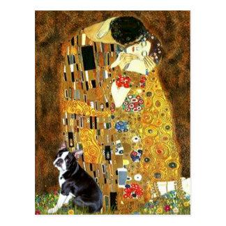 The Kiss - Boston Terrier #4 Postcards