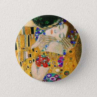 The Kiss by Gustav Klimt 2 Inch Round Button