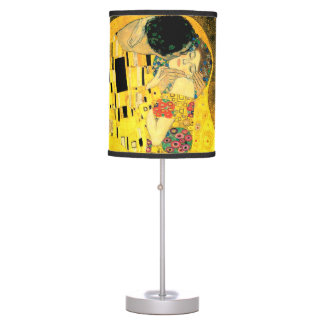 The Kiss by Gustav Klimt Art Nouveau Lamp