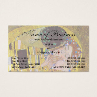 The Kiss by Gustav Klimt Business Card