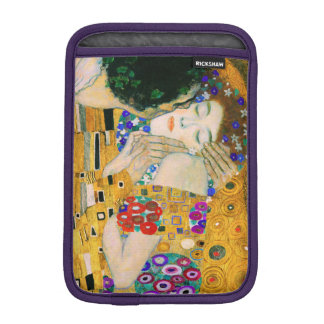 The Kiss by Gustav Klimt iPad Mini Sleeve
