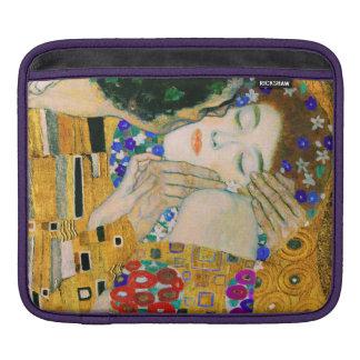 The Kiss by Gustav Klimt iPad Sleeve