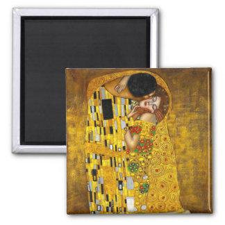 The Kiss By Gustav Klimt Fridge Magnet