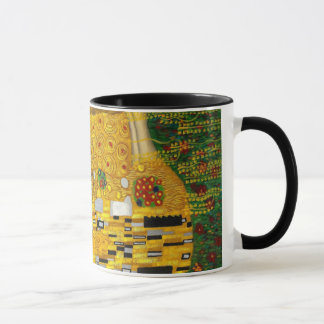 The Kiss By Gustav Klimt Mug