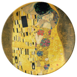 The Kiss by Gustav Klimt Plate