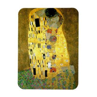 The Kiss by Gustav Klimt Rectangular Photo Magnet
