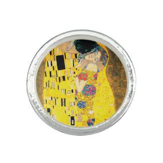The Kiss by Gustav Klimt Ring