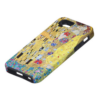The Kiss by Gustav Klimt, Vintage Art Nouveau iPhone 5 Covers