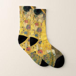 The Kiss by Gustav Klimt, Vintage Art Nouveau Socks