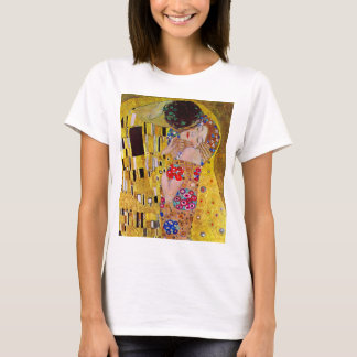 The Kiss by Gustav Klimt, Vintage Art Nouveau T-Shirt