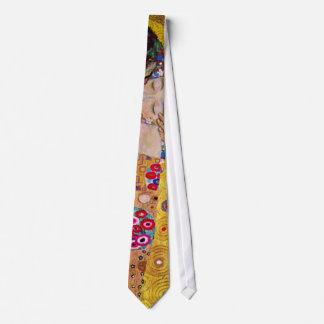 The Kiss by Gustav Klimt, Vintage Art Nouveau Tie