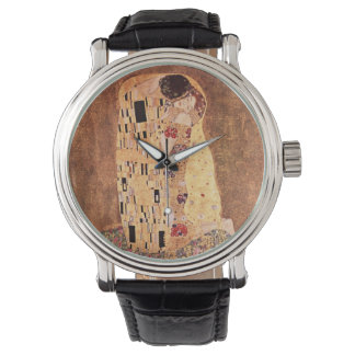 The Kiss by Gustav Klimt Watches