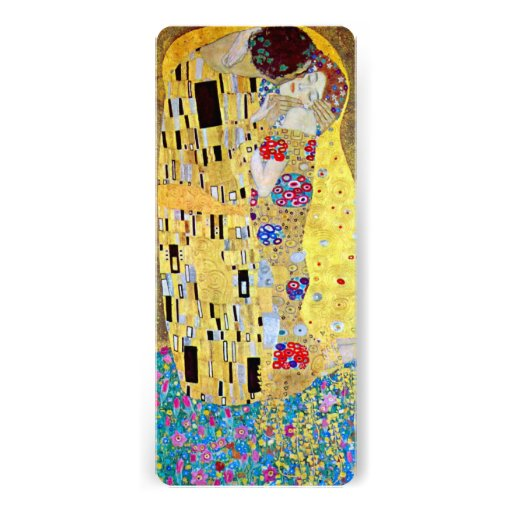 The Kiss by Gustav Klimt, Wedding Save the Date! Personalized Invitation