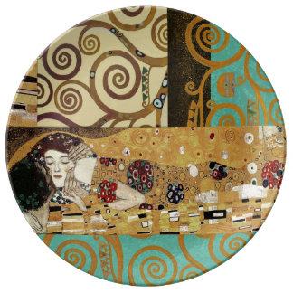 The Kiss Decorative Porcelain Plate