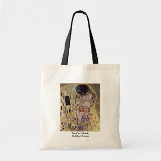 The Kiss (Detail) By Klimt Gustav Tote Bag