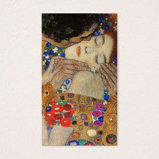 The Kiss (Detail) Gustav Klimt Business Card