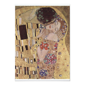 The Kiss Detail - Gustav Klimt Invitations