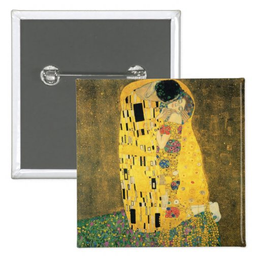 The Kiss - Gustav Klimt Pinback Button