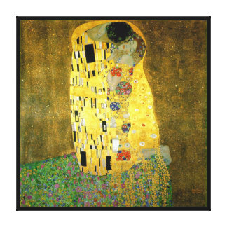 The Kiss ~ Gustav Klimt Canvas Print