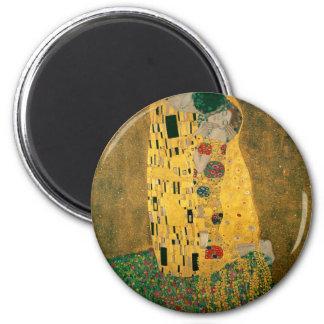 The Kiss - Gustav Klimt Fridge Magnets