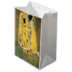 The Kiss - Gustav Klimt Medium Gift Bag