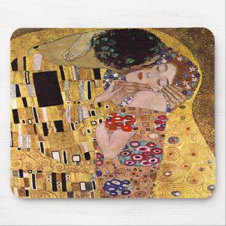The Kiss, Gustav Klimt Mouse Pads