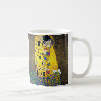 The Kiss, Gustav Klimt Mugs