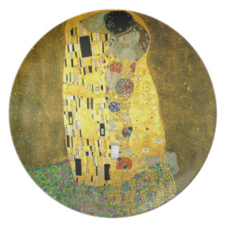 The Kiss ~ Gustav Klimt Plate
