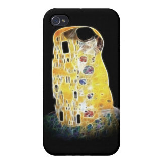 The Kiss Gustav Klimt Yellow Digital Painting iPhone 4/4S Case
