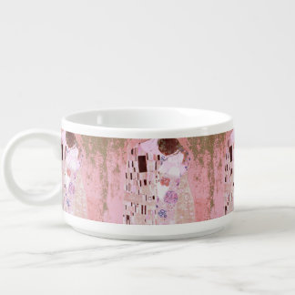 The Kiss in Soft Pinks Bowl