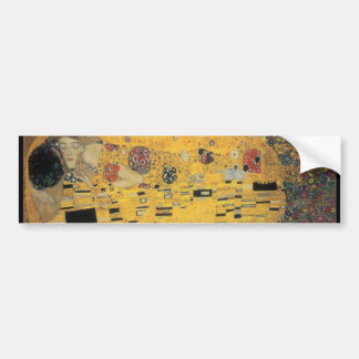 The Kiss, ,reproduction,Gustav Klimt painting,art Bumper Sticker