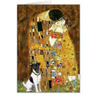 The Kiss - Smooth Fox Terrier Card