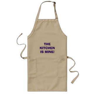 THE KITCHEN IS MINE! LONG APRON