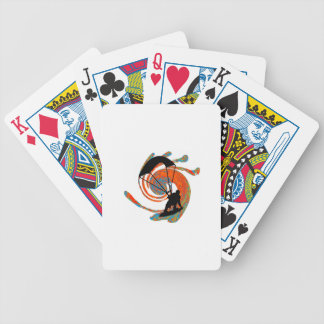 THE KITEBOARD SYSTEMIC BICYCLE PLAYING CARDS