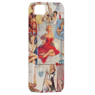 The Kitsch Bitsch © : Love Pin-Up Collage Case For The iPhone 5