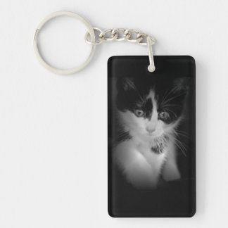 The Kitten in Motion Keychain